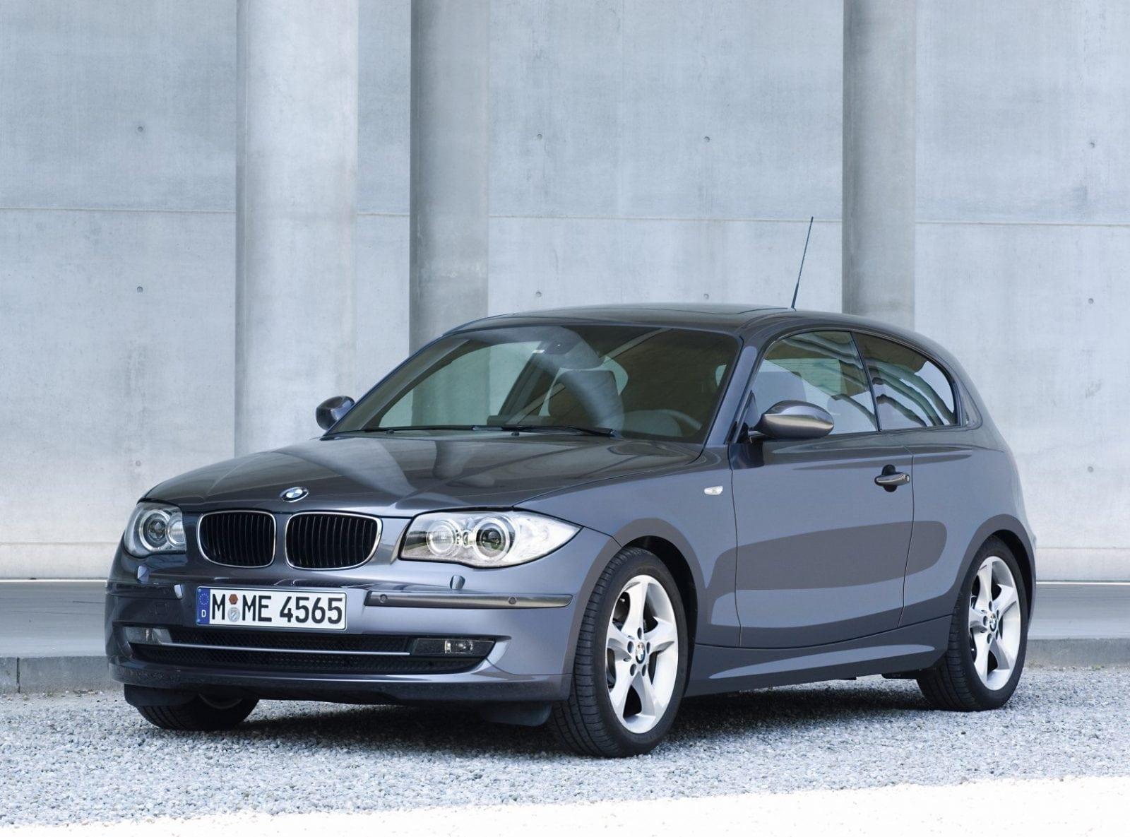 New BMW 123d E81 Three Door 06 2007