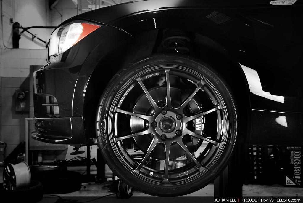 Прокаченный BMW E82 135i от WheelSTO