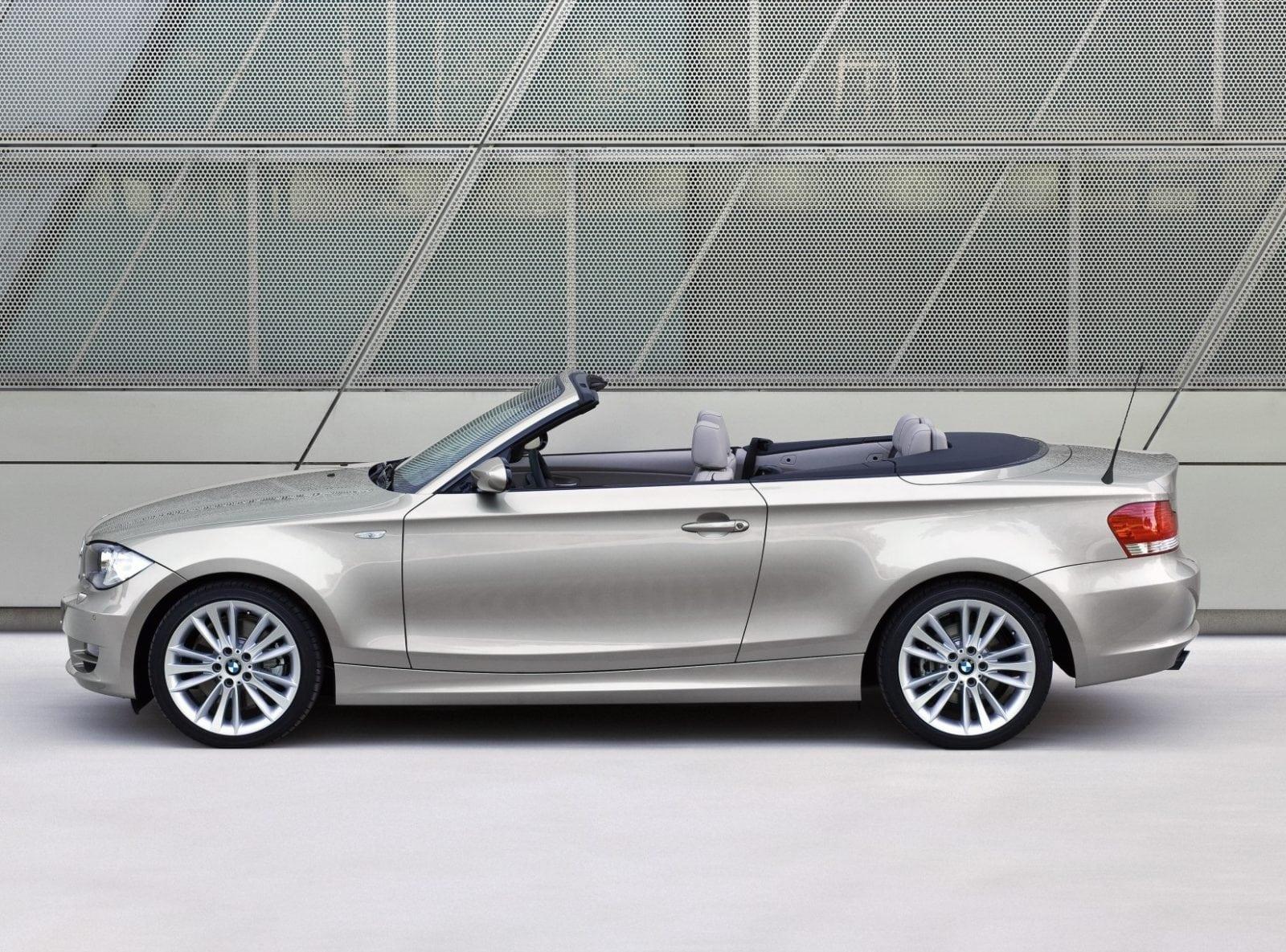 BMW E88 123d Cabrio 2009 Model Year