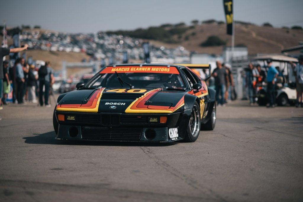 Столетие BMW на треке Laguna Seca со всех ракурсов: назад в паддок