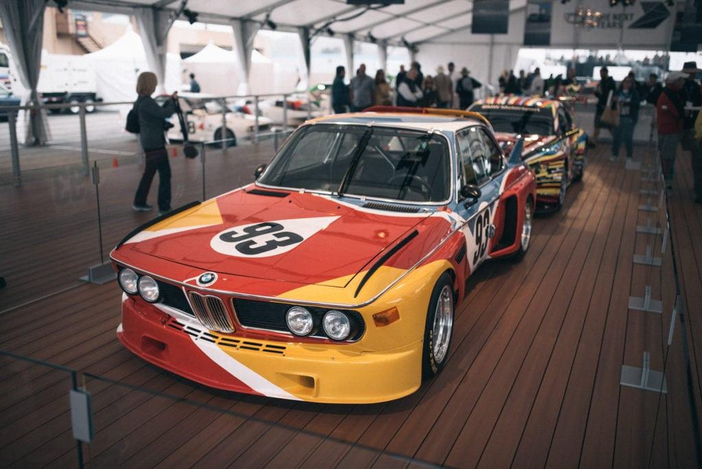 Столетие BMW на треке Laguna Seca со всех ракурсов: конюшни BMW