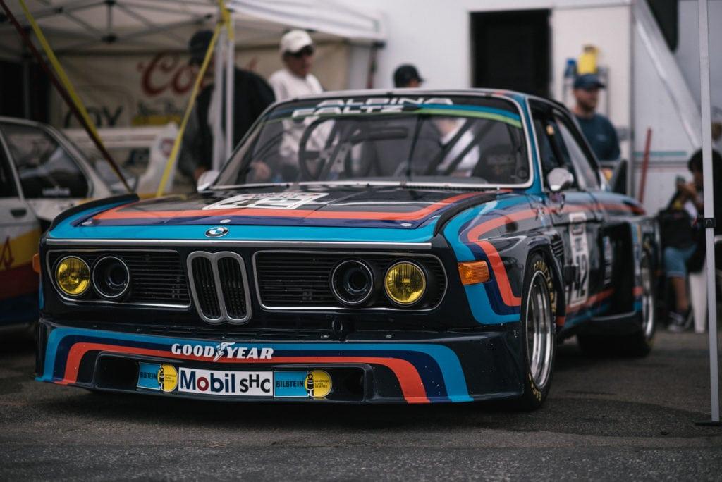 Столетие BMW на треке Laguna Seca со всех ракурсов: исследуя паддок
