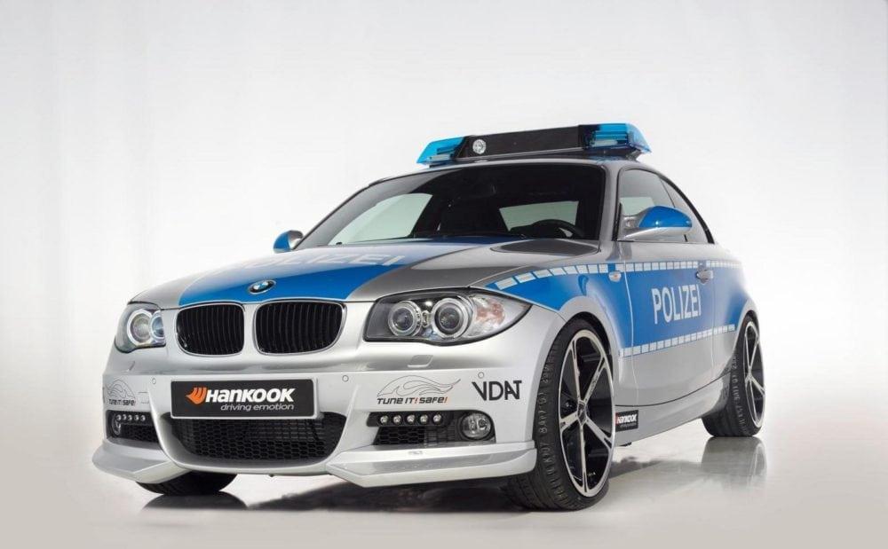 Специальная версия BMW 123d E82 от AC Schnitzer для немецкой полиции