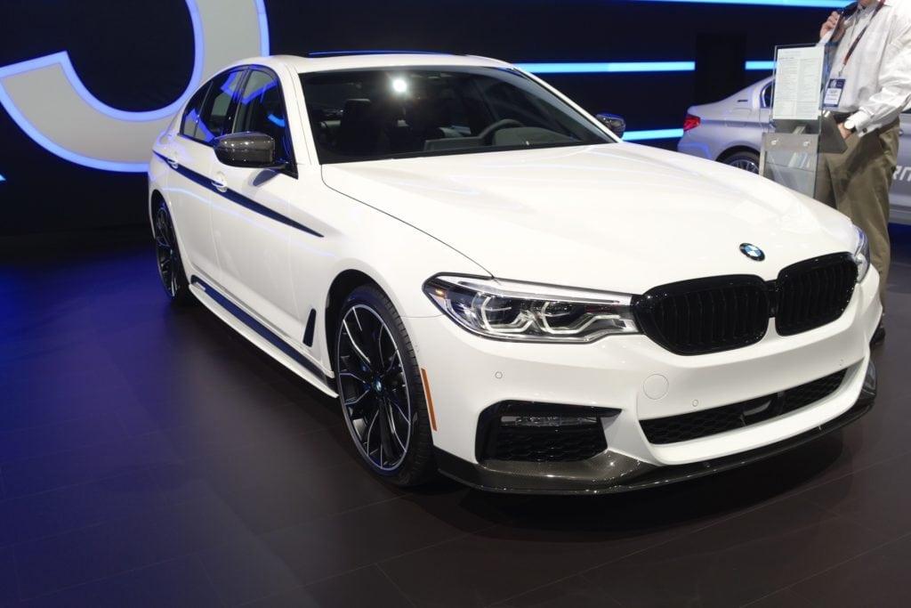 BMW 540i M Performance NYIAS 2017
