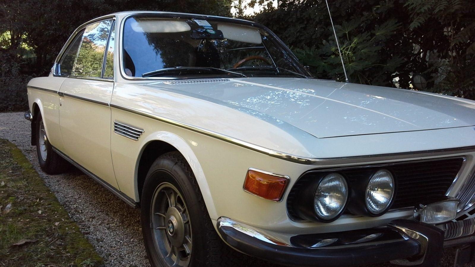 BMW 2800 CS 1970 года с пробегом 78 000 продается в Италии