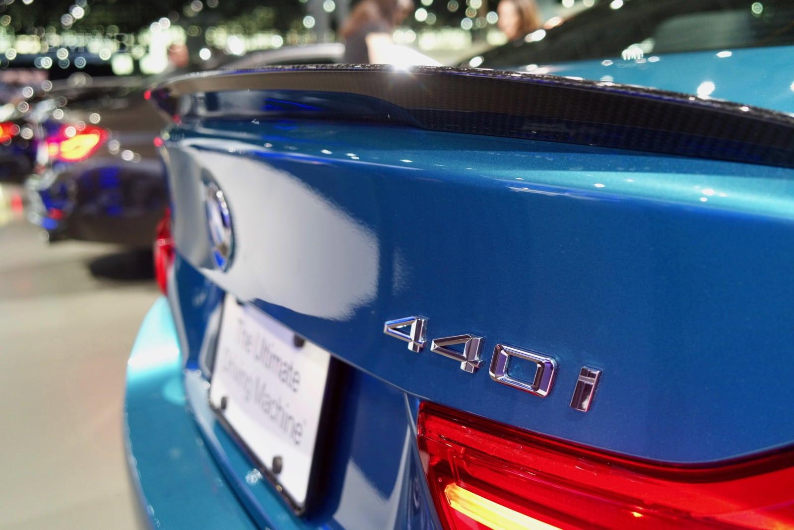 BMW 440i Snapper Rocks Blue NYIAS 2017
