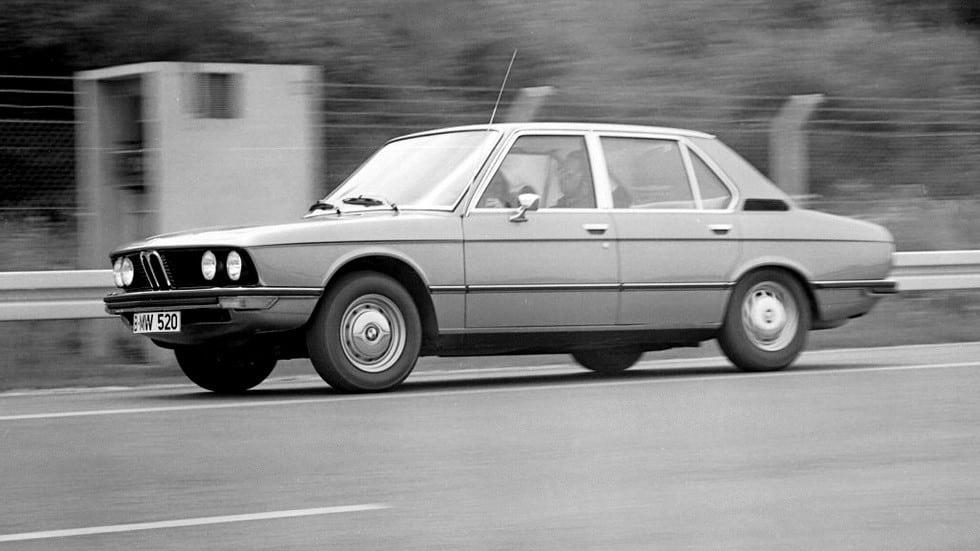 BMW 520 Sedan (E12) '1972–1975