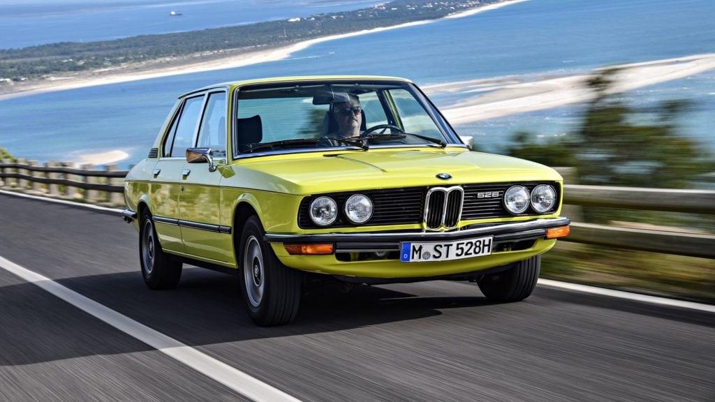BMW 528 Sedan (E12) '1974–76