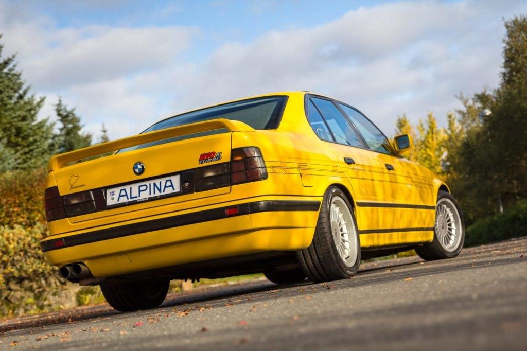 Шикарный, прокаченный Alpina BMW 5 Серии 89 года прямиком из Исландии