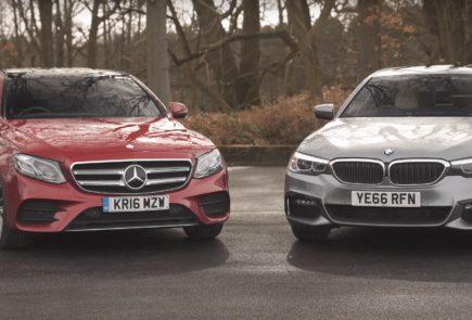 Лицом к лицу: BMW 520d vs Mercedes Benz E220d