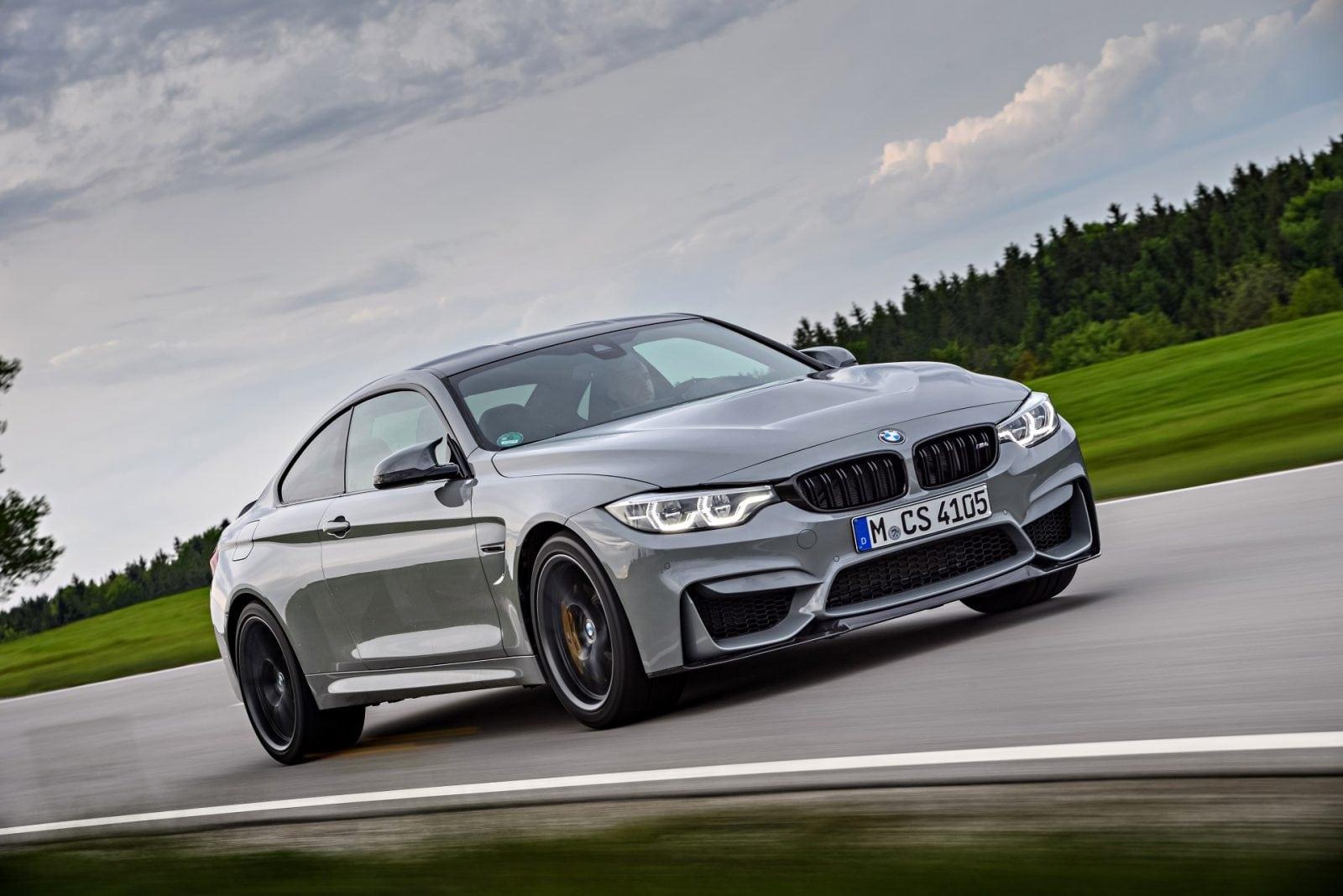 BMW M4 CS 2017 Lime Rock Grey Metallic