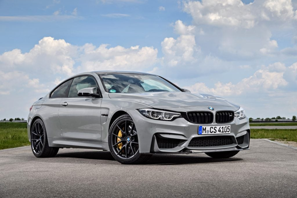 BMW M4 CS 2017 Lime Rock Grey Metallic