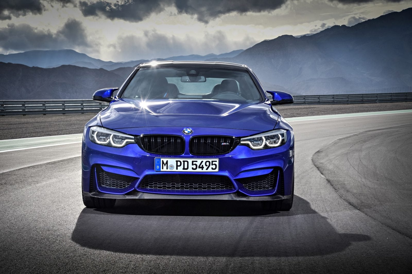 BMW M4 CS 2017 San Marino Blue Metallic