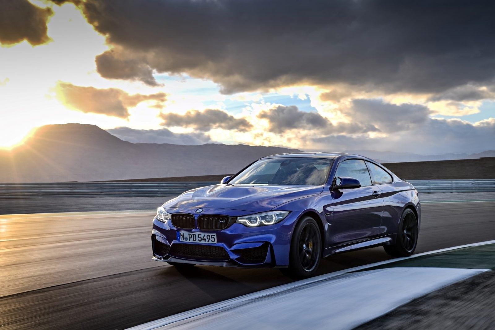 BMW M4 CS 2017 San Marino Blue Metallic