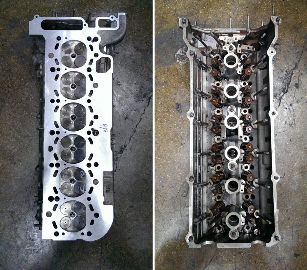 ГБЦ Двигателя BMW M54 после ремонта. Фото: stolica-atc.ru
