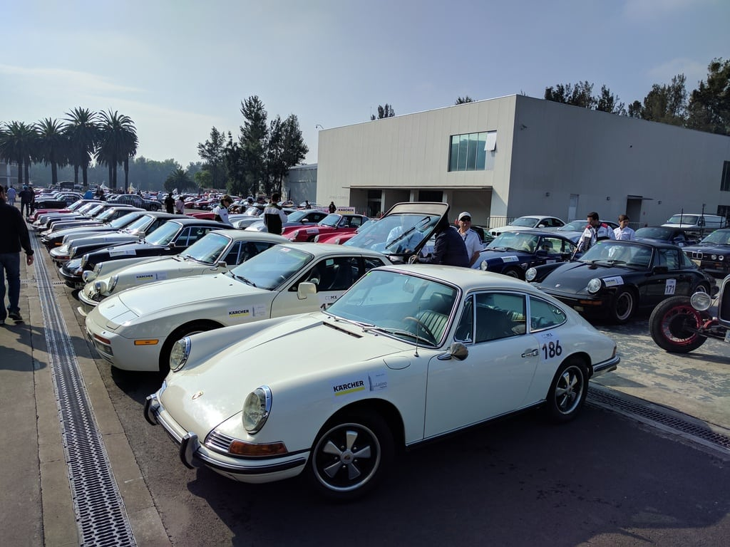 Классика BMW на Gran Premio Histórico de la Ciudad de México