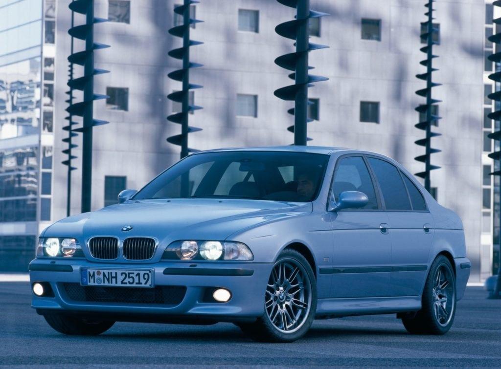 BMW M5 E39 официальные фото BMW