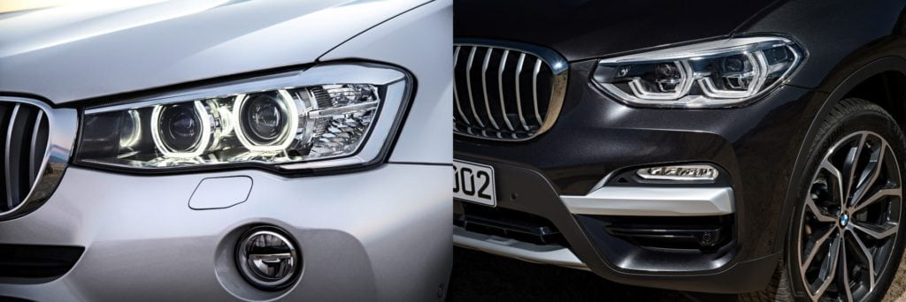 Сравниваем два поколения иксов: X3 G01 vs X3 F25
