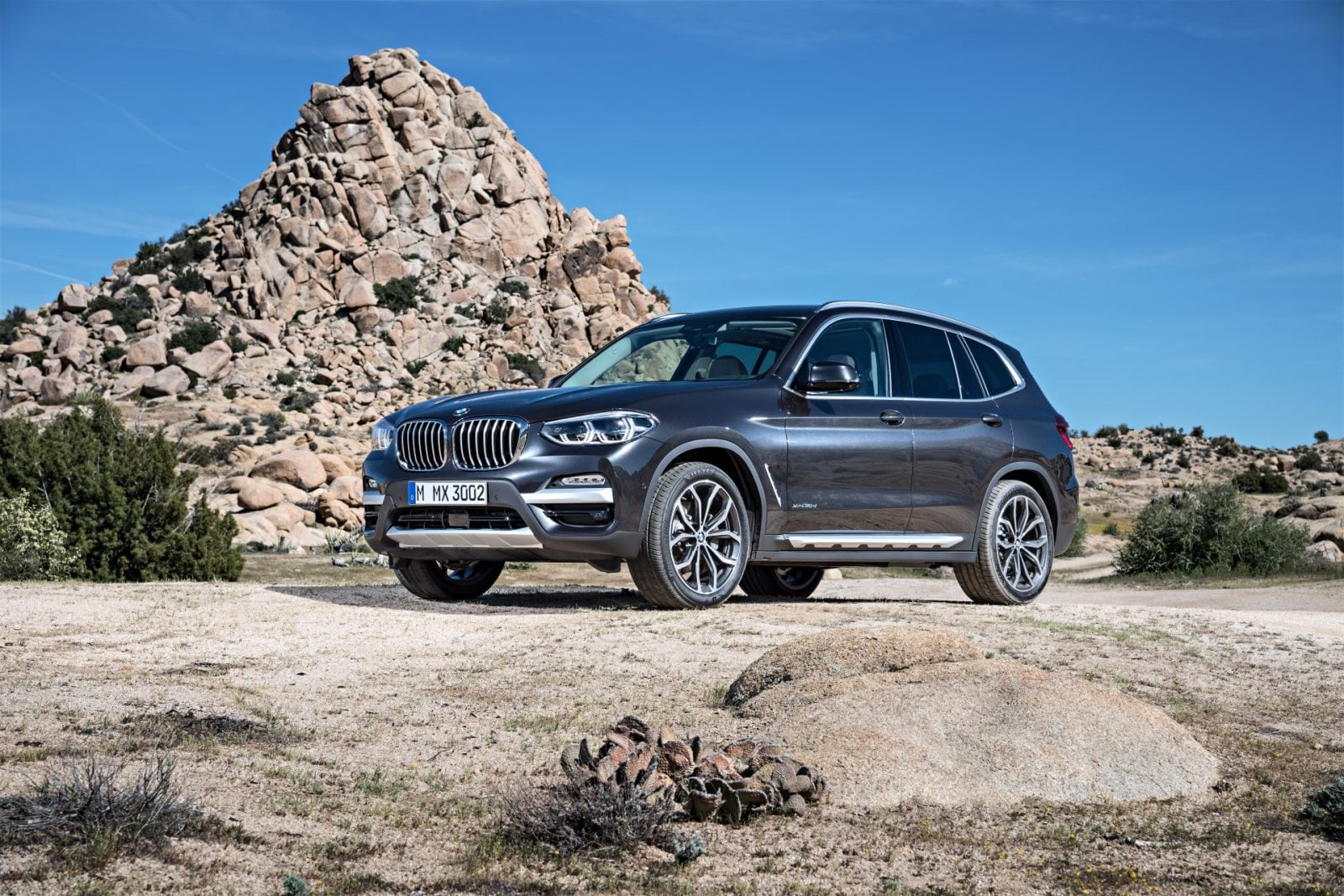 BMW X3 G01 2018 xDrive30d xLine Sophisto Grey Metallic With Leather Vernasca Mocca