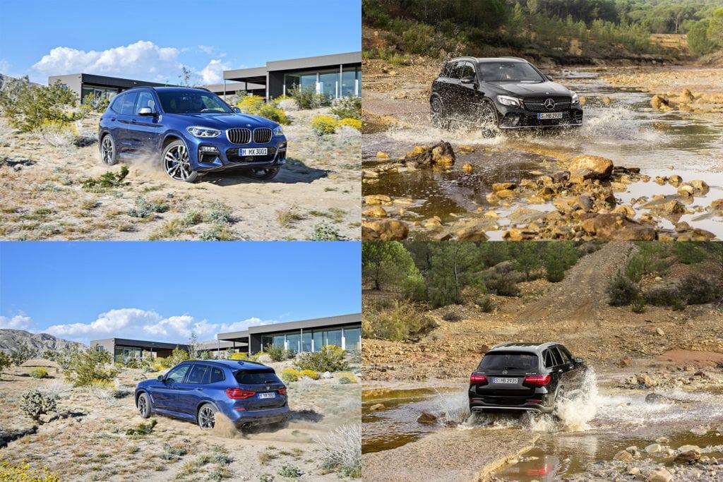Сравниваем BMW X3 G01 M40i vs Mercedes Benz GLC 43 4matic