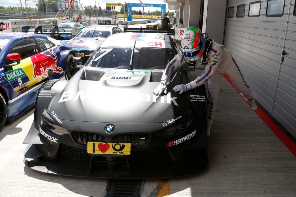 DTM Moscow (RUS) 23 Июля 2017. BMW Motorsport, Qualkifiyng 2nd Place Driver Bruno Spengler (CAN)