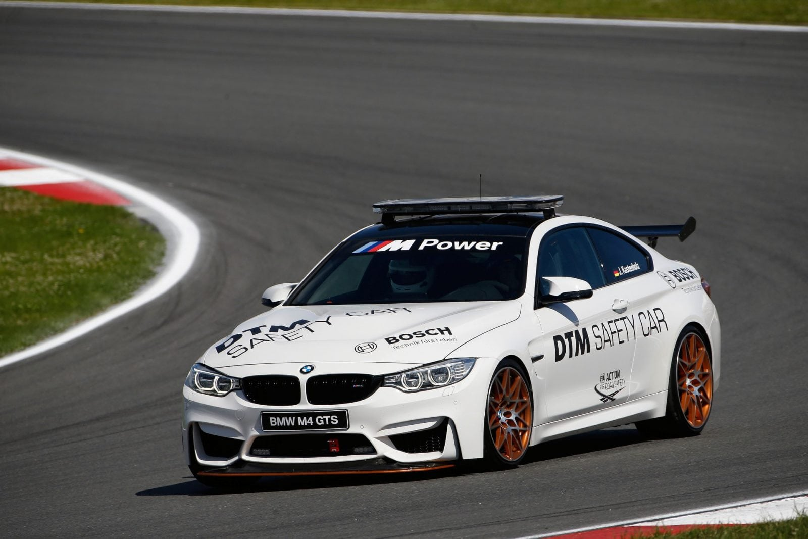 Moscow (RUS) 23th July 2017. BMW Motorsport, Race 10, BMW M4 GTS DTM Safety Car.