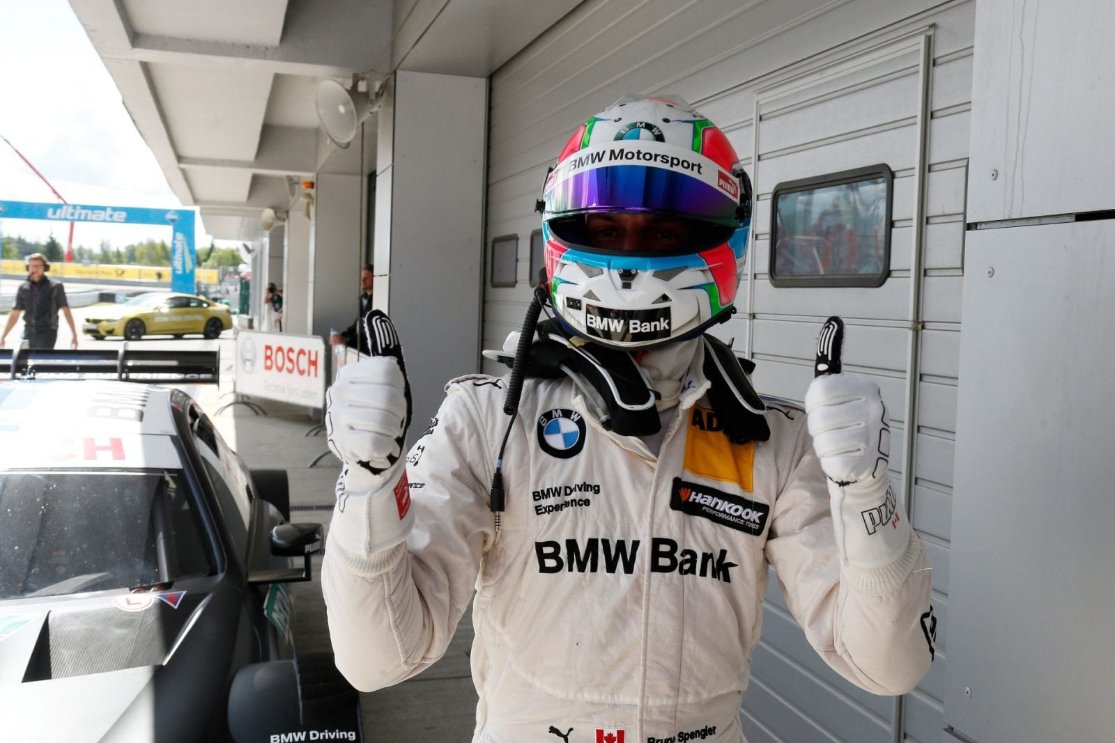 Moscow (RUS) 23th July 2017. BMW Motorsport, Qualkifiyng 2nd Place Driver Bruno Spengler (CAN).