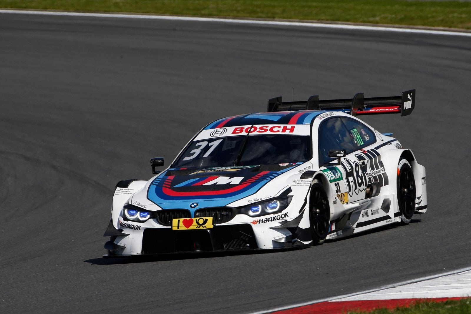 Moscow (RUS) 23th July 2017. BMW Motorsport, Race 10, Tom Blomqvist (GBR) BMW Driving Experience M4 DTM.