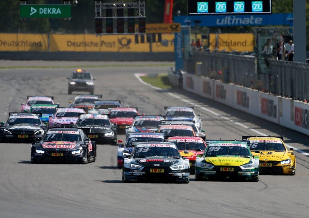 Этап DTM на Moscow Raceway