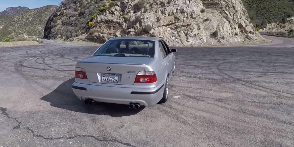 BMW M5 E39 с минимальными доработками в эфире The Smoking Tire