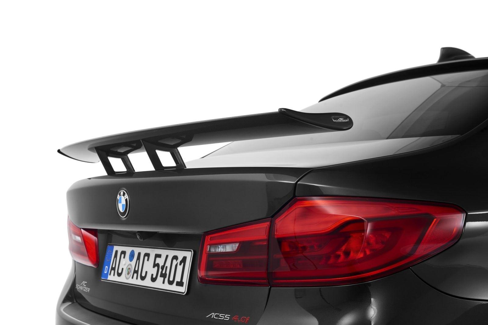 BMW 5 Series G30 2017 от AC Schnitzer: тюнеры из Ахена заметно прибавили мощности новой пятой серии BMW
