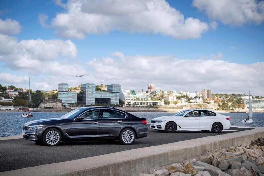 BMW 5 Серии G30 530d xDrive и 540i sDrive