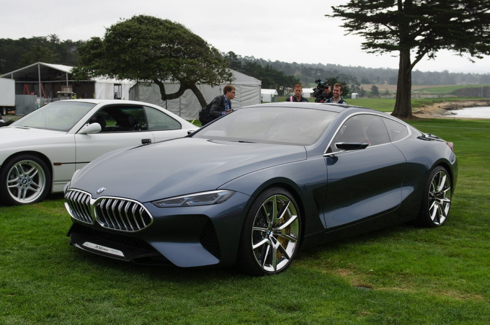 BMW 8 Series Concept 2017 Live Photos from Pebble Beach