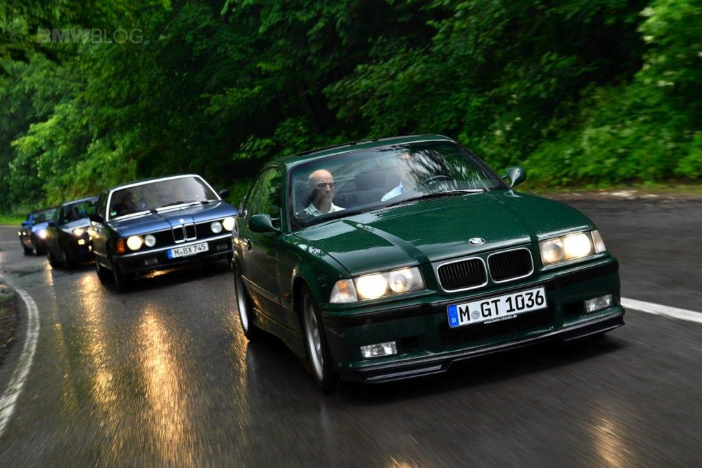 BMW M3 E36 GT на трассах Румынии