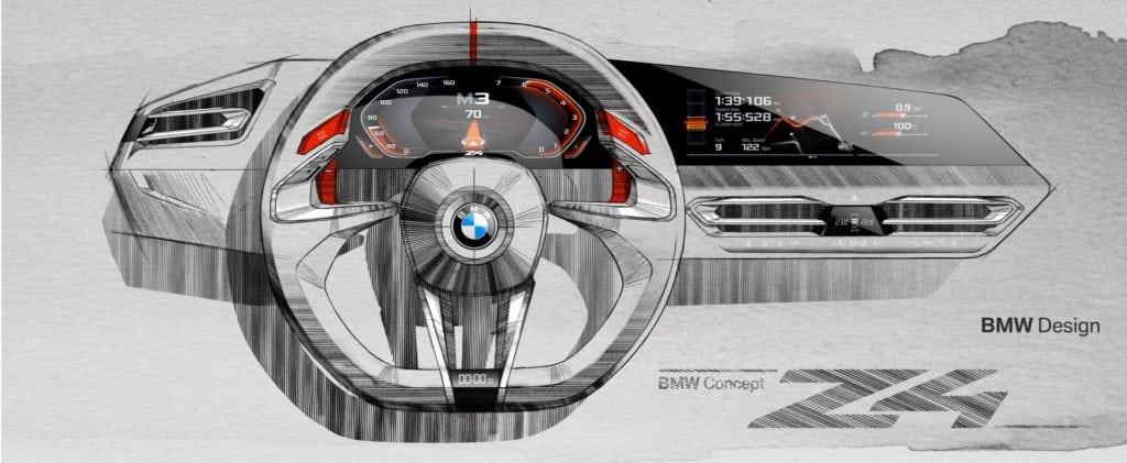 BMW Z4 Concept 2017 Design Sketches
