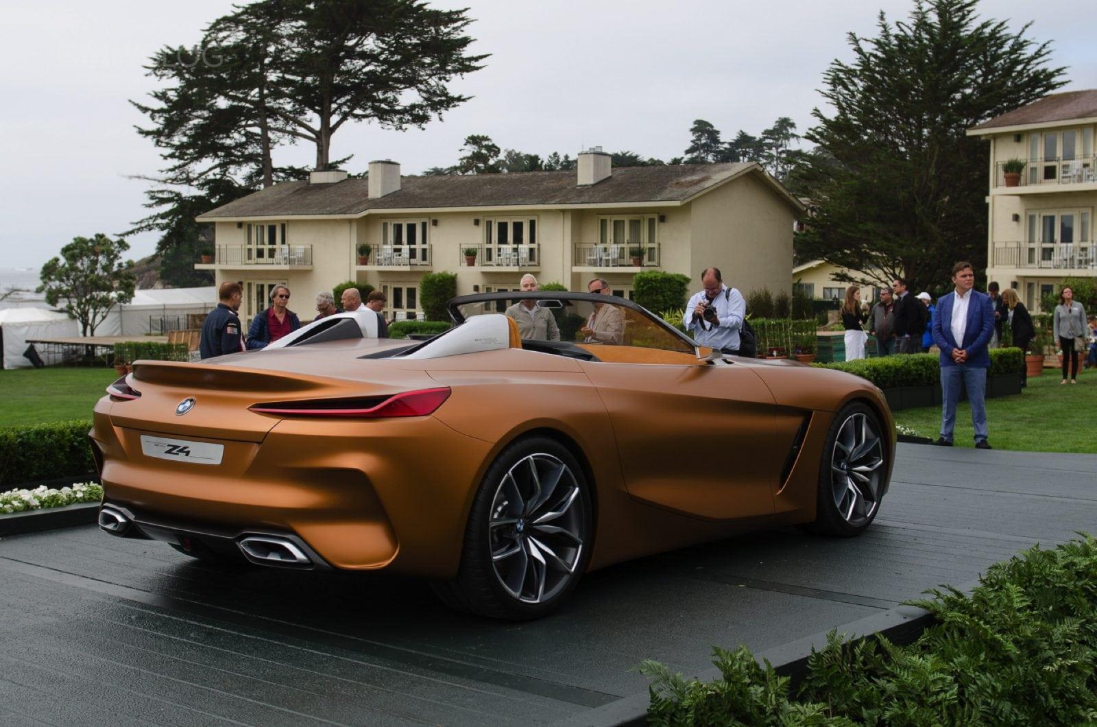 BMW Z4 Concept 2017 Design Live Photos from Pebble Beach