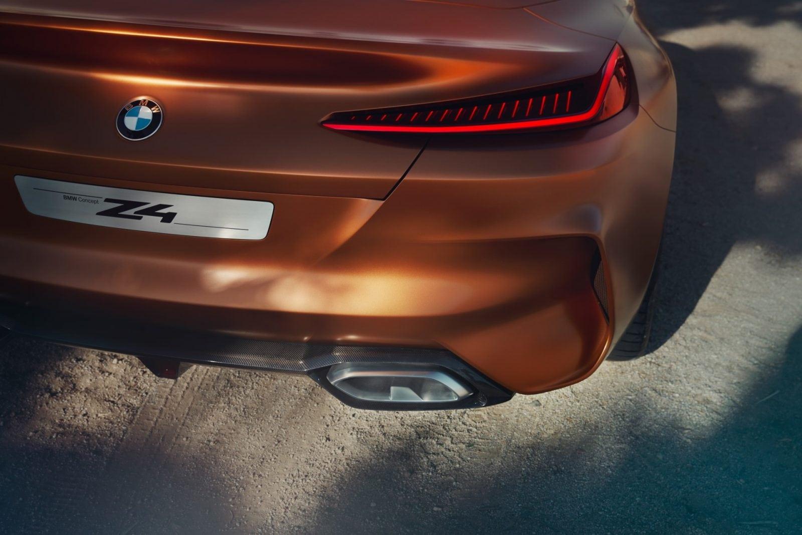 BMW Z4 Concept 2017 Design Official Photoset