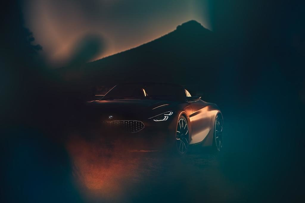Компания BMW впервые «засветила» возрожденный Z4 на своих страницах в соцсетях