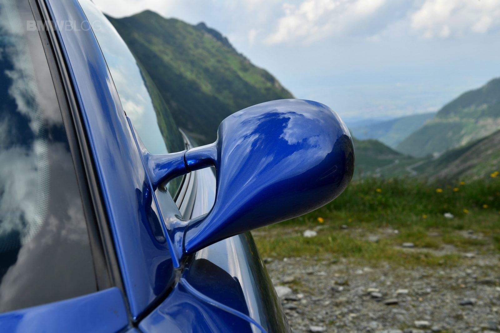 BMW 850 CSi on the Roads of Romania