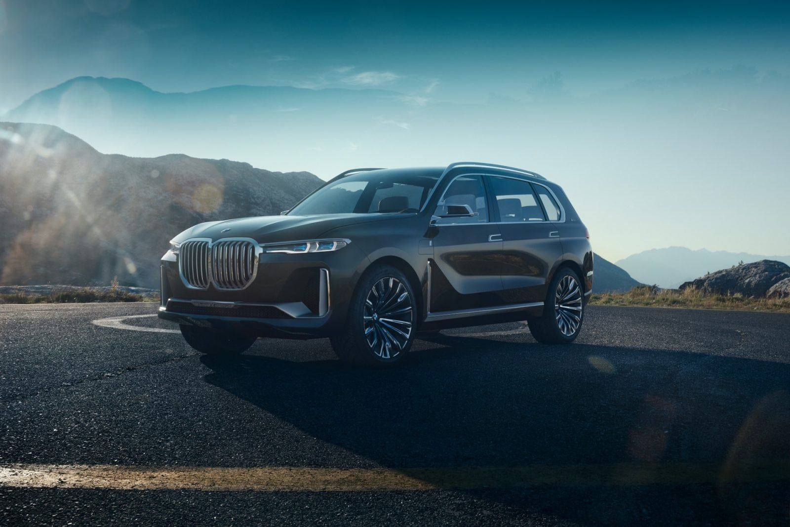 BMW Concept X7 iPerformance 2017 Exterior