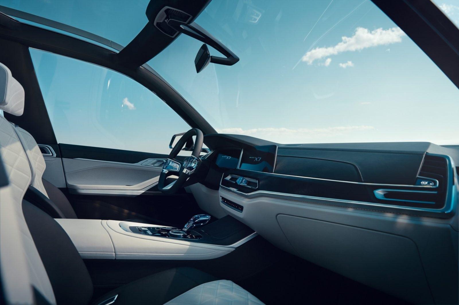 BMW Concept X7 iPerformance 2017 Interior