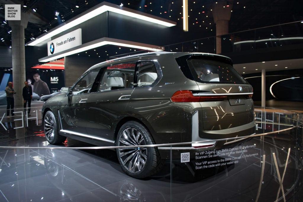 BMW X7 Concept IAA 2017 во Франкфурте