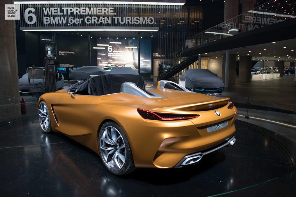 BMW Z4 Concept IAA 2017 во Франкфурте