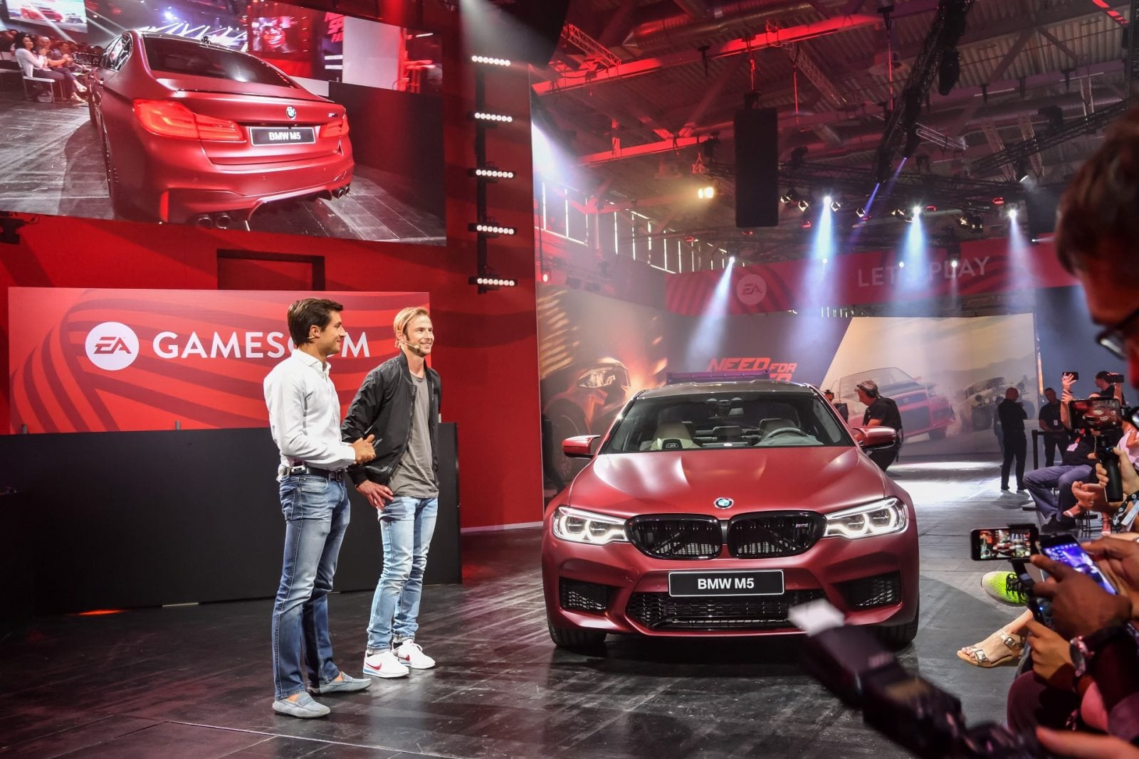 BMW M5 2017 в главной роли в NFS Playback