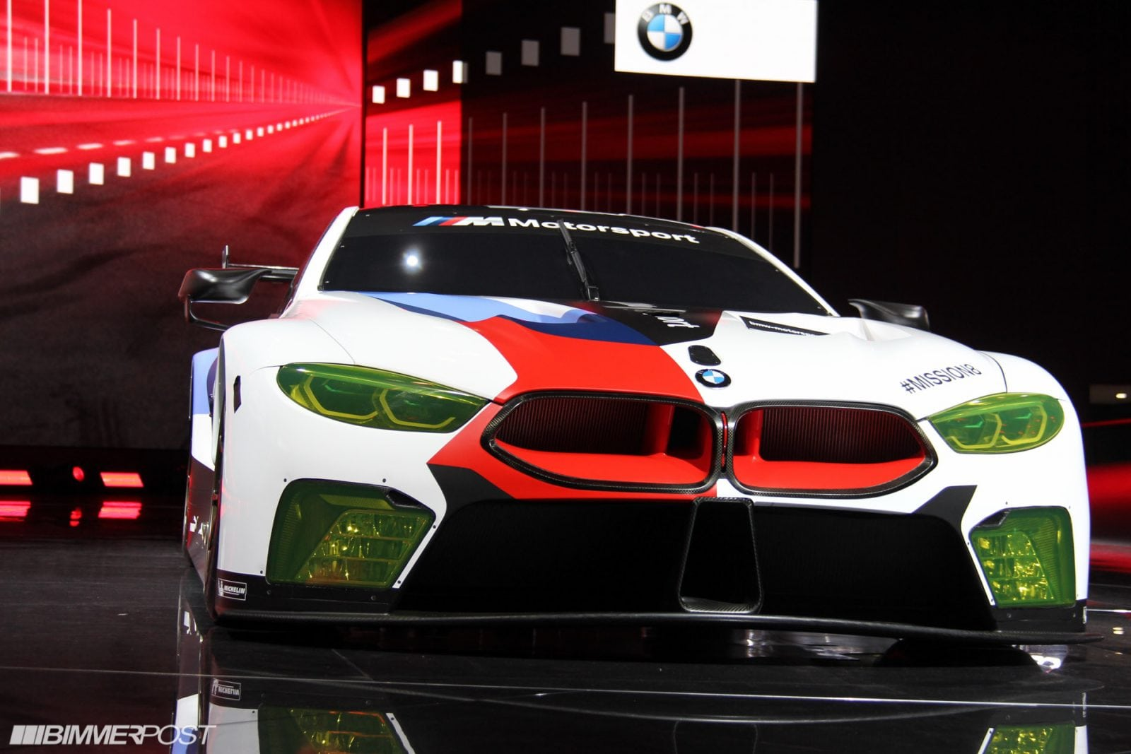 BMW M8 GTE IAA 2017 by Bimmerpost