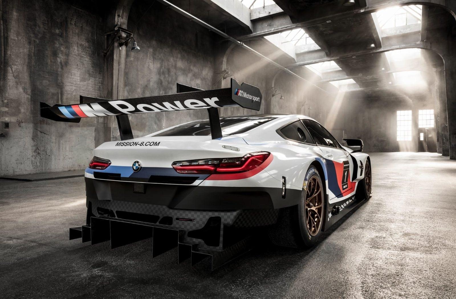 BMW M8 GTE 2017 Official Photos