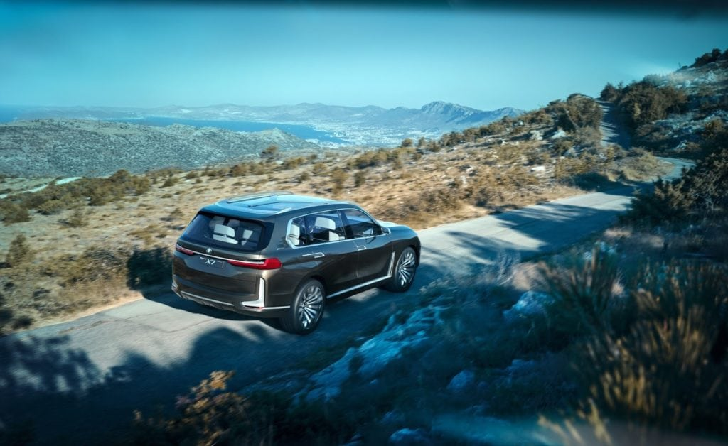 Фото BMW X7 Concept iPerformance