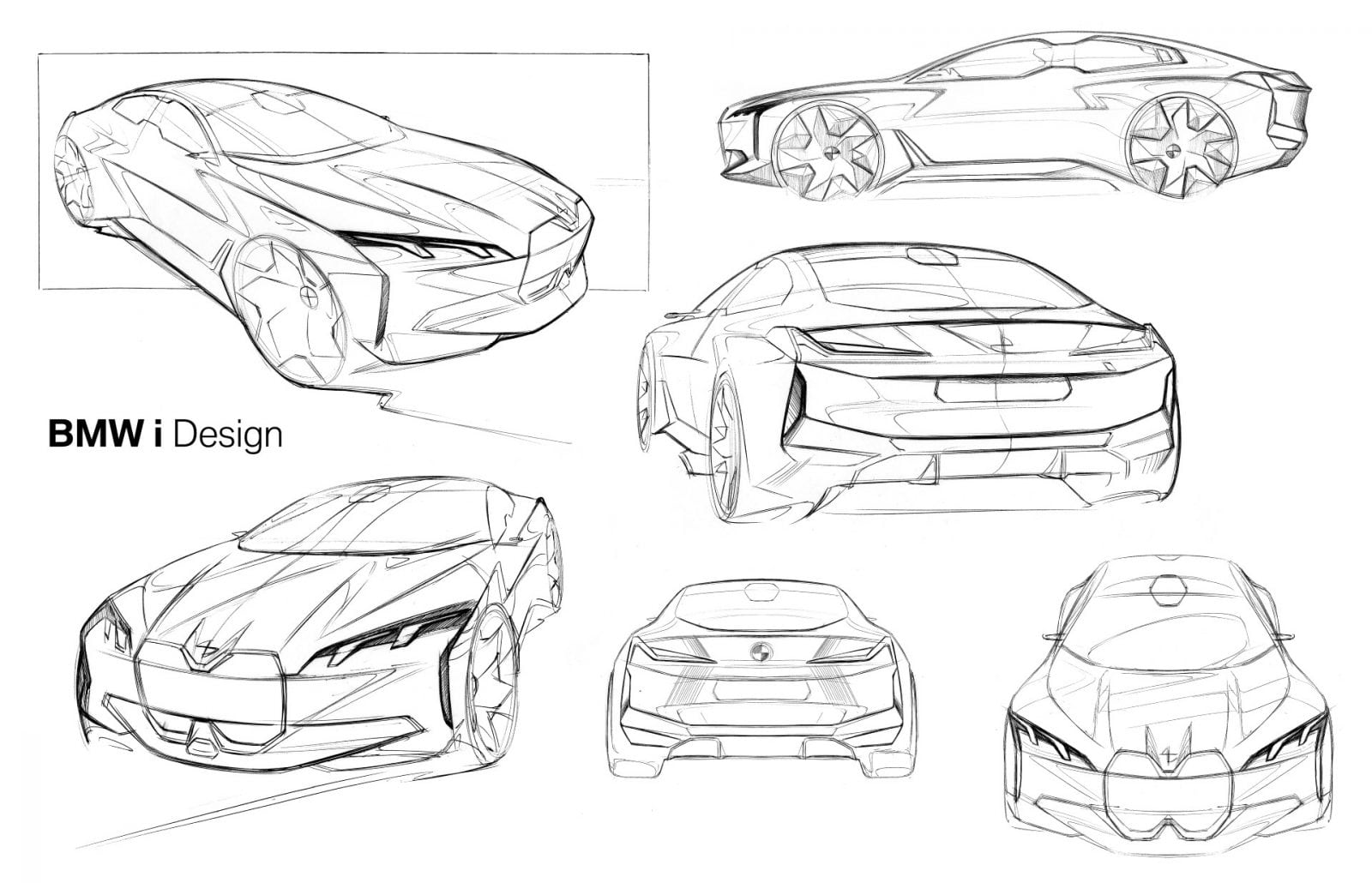 BMW i Vision Dynamics Scetches