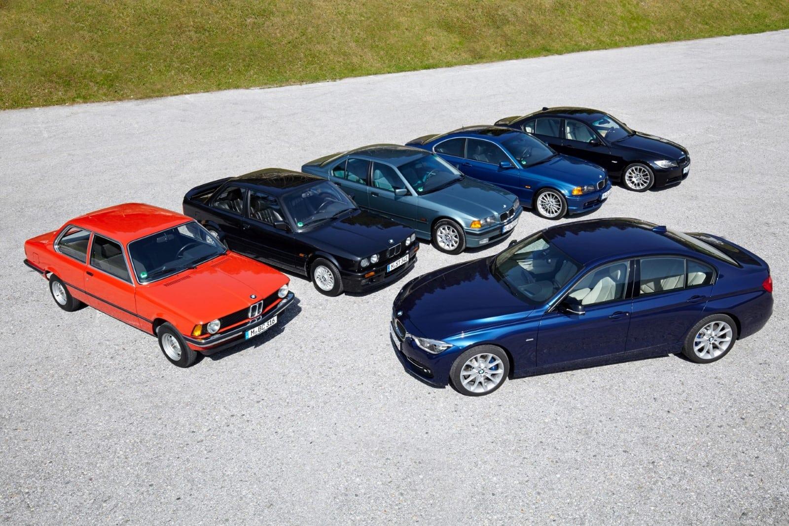 Сорок лет легендарной BMW 3 Серии - все поколения