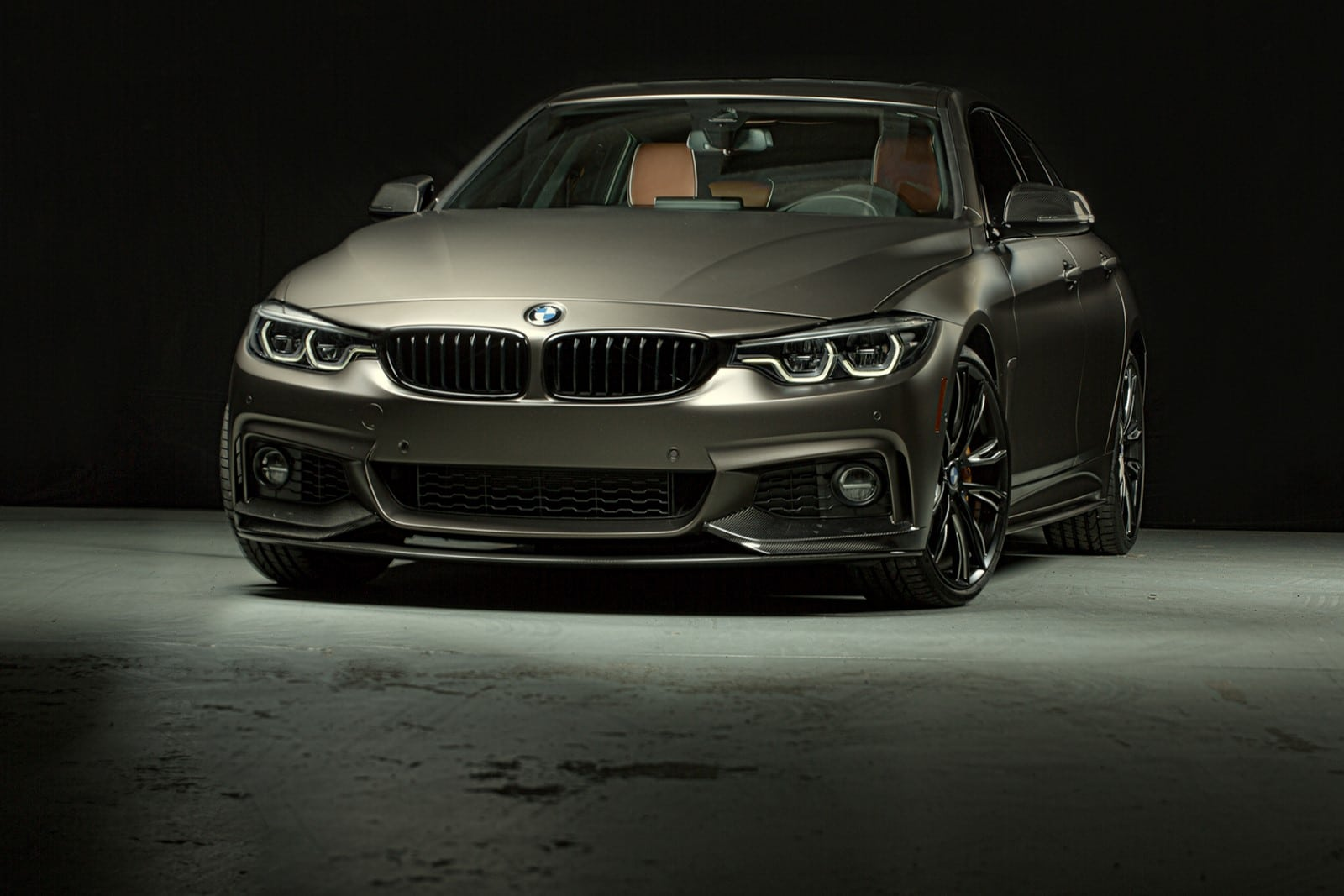 BMW 440i Gran Coupe M Performance Parts SEMA 2017